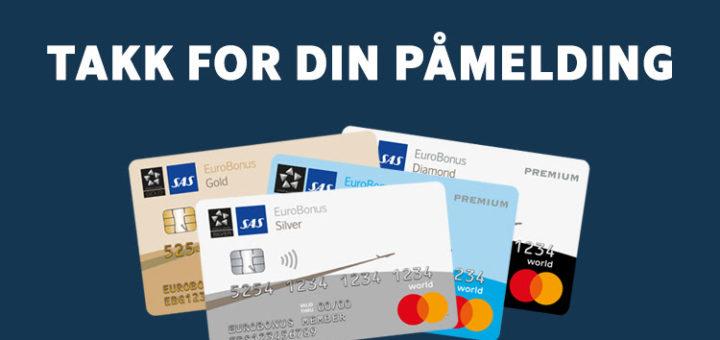 SAS Mastercard Premium kampanje